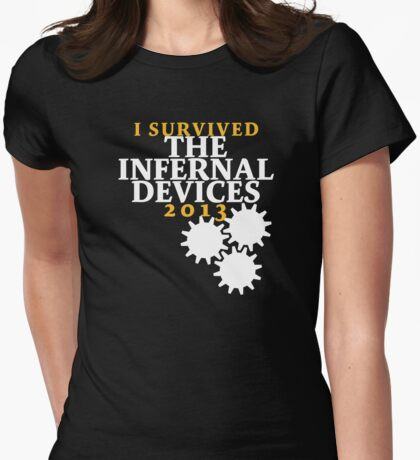 I Survived TID 2 Womens Fitted T-Shirt