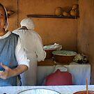 Making Foccaccia-AD 1398 by CatharineAmato