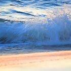 Sunrise Surf by karineverhart