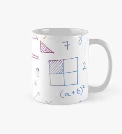 Math formulae (white) Mug