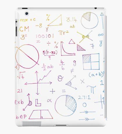 Math formulae (white) iPad Case/Skin
