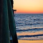 Sunrise at the Pier by karineverhart
