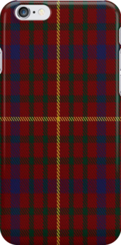 01371 Capricornica Fashion Tartan Fabric Print Iphone Case by Detnecs2013