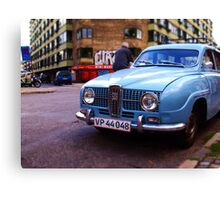Headlamps Canvas Print