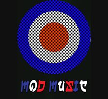MOD MUSIC - J-STYLE Womens Fitted T-Shirt