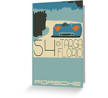 Targa Florio Greeting Card
