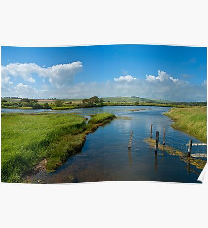 Cuckmere River, Great Britain Poster