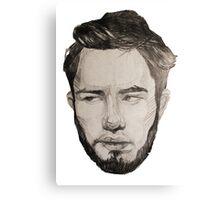 Face of Mark Canvas Print
