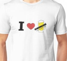 i heart beer Unisex T-Shirt