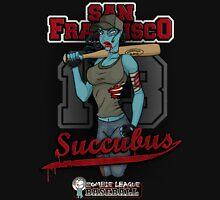 Zombie League Baseball - San Francisco Succubus Unisex T-Shirt