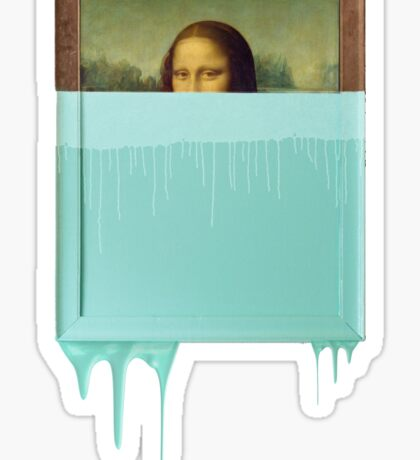 Mona double dip Sticker