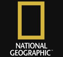National Geographic Logo One Piece - Short Sleeve