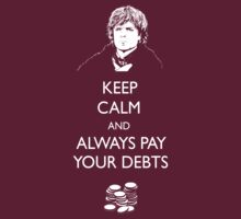 Keep Calm Lannister by spacemonkeydr