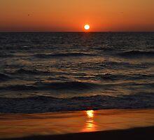 Ocean Sunrise by karineverhart