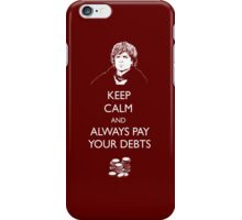 Keep Calm Lannister iPhone Case/Skin