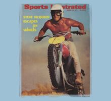 Steve McQueen - Magazine Cover by HarveyMushman