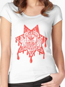 King County Badge - The Walking Dead Women's Fitted Scoop T-Shirt
