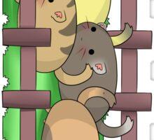 Kitty Farm Sticker