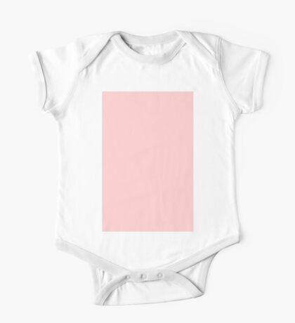 Best Price Rose Quartz | Pantone Color of the Year 2016 | Solid Color One Piece - Short Sleeve