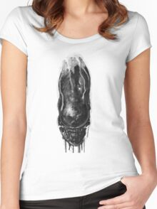 Alien Xenomorph Warrior 1 Women's Fitted Scoop T-Shirt