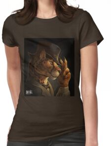 Fancycat Womens Fitted T-Shirt