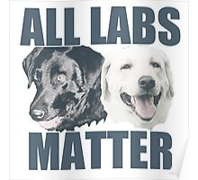 All Labs Matter Poster