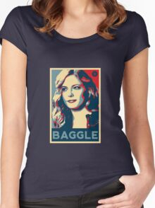 Baggle Women's Fitted Scoop T-Shirt