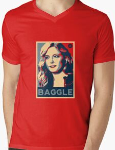 Baggle Mens V-Neck T-Shirt