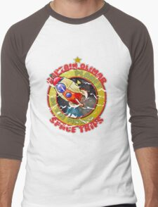 Pikmin Space Trips Men's Baseball ¾ T-Shirt