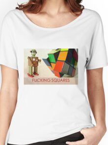 FUCKING SQUARES Women's Relaxed Fit T-Shirt