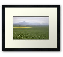 Winter in Cape Town Framed Print