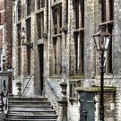 Entrance Town Hall Veere by Jacqueline van Zetten