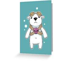 Polar Pilot Greeting Card