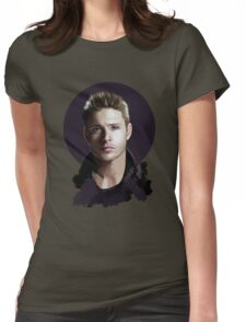 Dean Portrait Womens Fitted T-Shirt