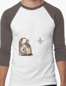 Korteef Wall Men's Baseball ¾ T-Shirt