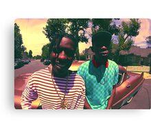 Tyler the Creator & ASAP Rocky Canvas Print