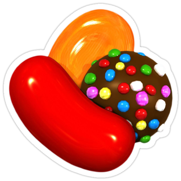 "Candy Crush Saga"" Stickers by elyosz 