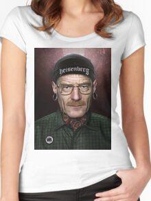 xWALTER WHITEx Women's Fitted Scoop T-Shirt