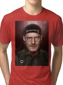 xWALTER WHITEx Tri-blend T-Shirt