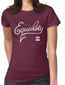 Equality - White Womens Fitted T-Shirt