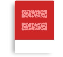 marriage equality symbol Canvas Print