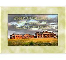 Banner - RCAFTB - Challenge Winner Photographic Print