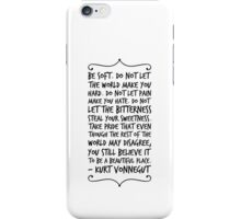 be soft iPhone Case/Skin