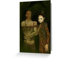 The Forgotten Man Greeting Card