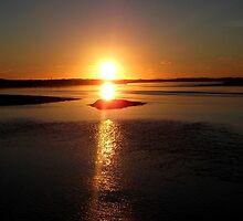 Fremington Sunset by apoetsjournal