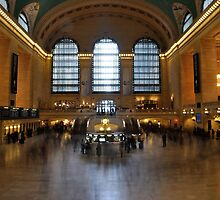 New York Central Station by Andy Fairgrieve