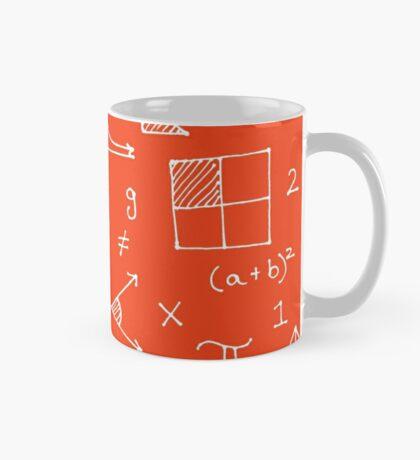 Math formulae (red) Mug