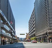 Rundle Mall - Looking East along Rundle Street.  by DPalmer