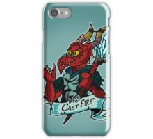 Roll for Casting Fire iPhone Case/Skin