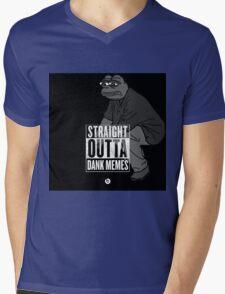 Dank Memes ( PEPE ) Mens V-Neck T-Shirt